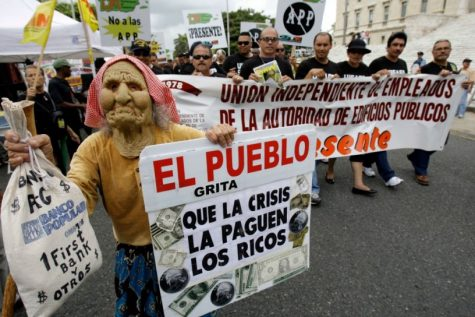 """""""The people cry out for the rich to pay for this crisis."""""""